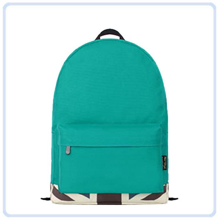恩典加工定制旅行包 纯色尼龙休闲包包 欧美时尚双肩包