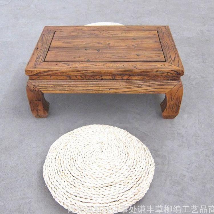 明清古典长方形老榆木原生态方炕几地桌 仿古小茶几 手工艺品批发