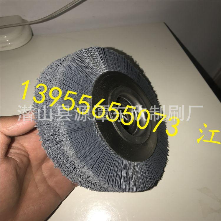 尼龙丝毛刷厂家  友达刷业供应优良尼龙丝毛刷或含碳化硅圆盘刷  氧化铝圆盘刷