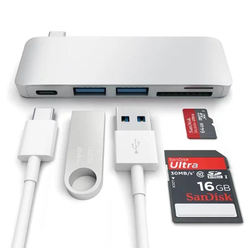 厂家直销type-c hub转换集线器 苹果电脑Macbook Pro扩展坞转接头