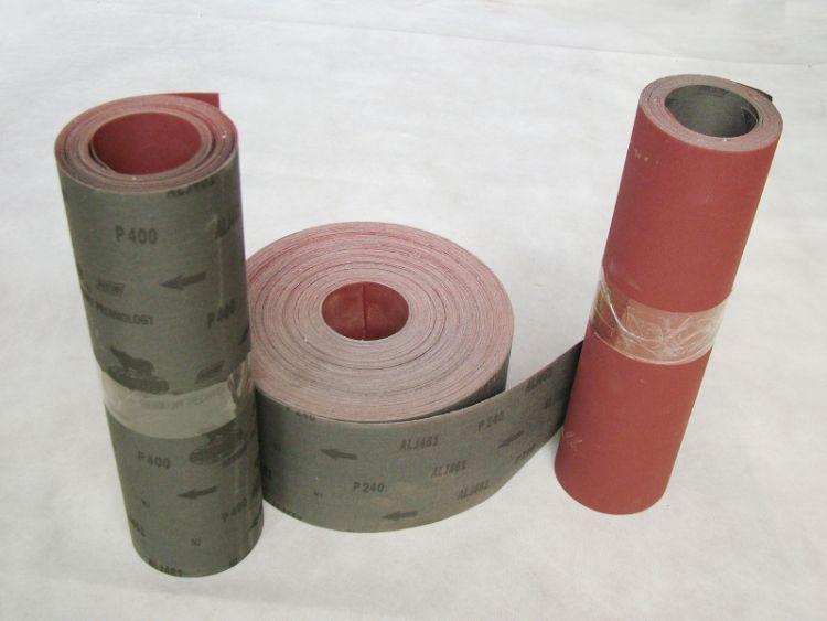 厂价直销正品犀利牌手撕砂布卷 专业生产461中软布卷 进口砂布卷