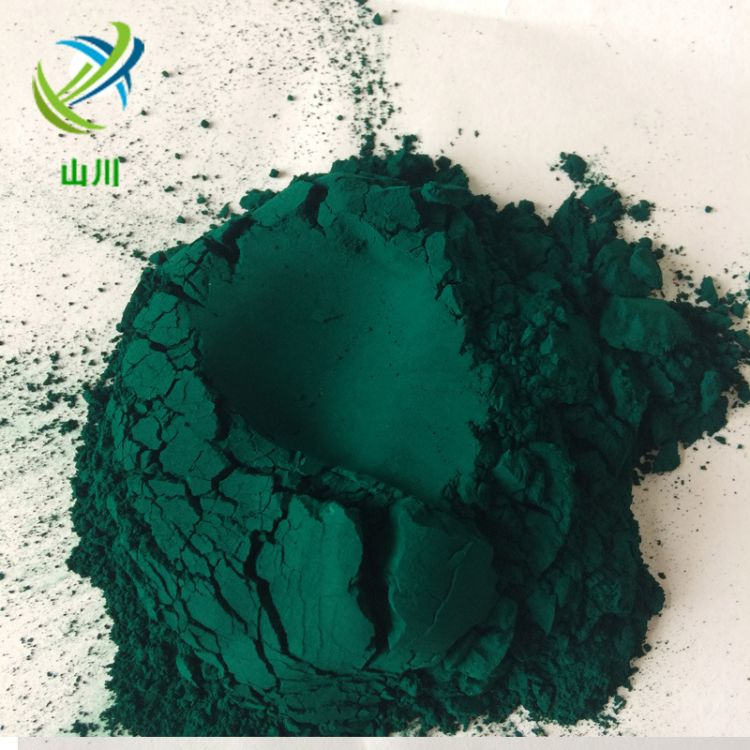 供应氧化铁绿 复合铁绿5605 地坪专用绿色颜料 耐晒耐高温