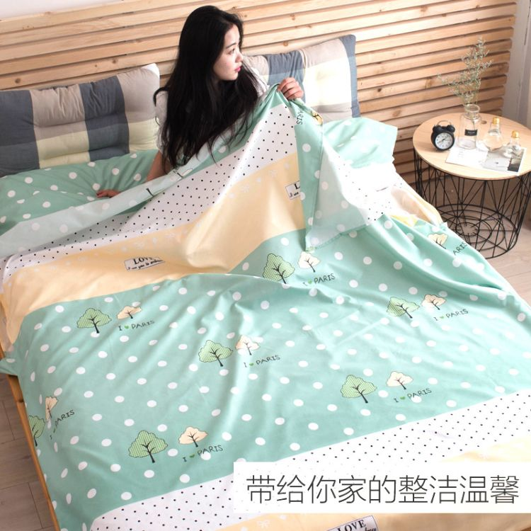 旅行隔脏睡袋成人室内纯棉便携式单人双人酒店防脏宾馆四季床单