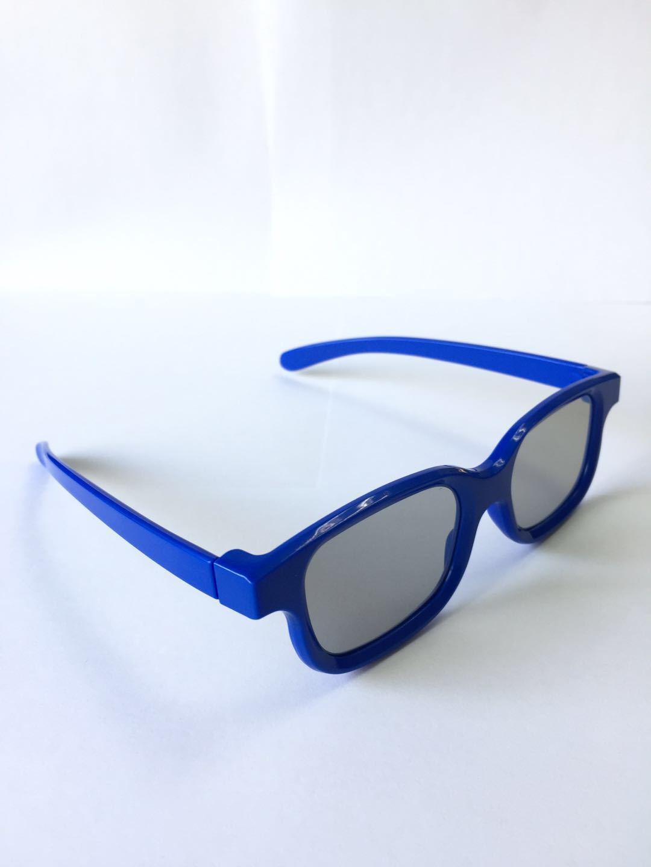 3D立体眼镜被动式圆偏光儿童3d眼镜电影院全通用