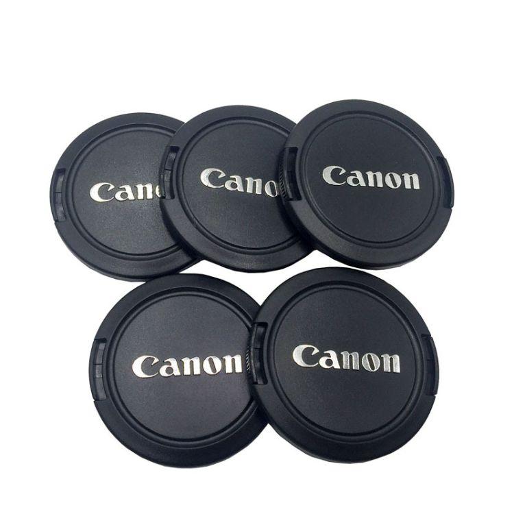 适用于佳能镜头58mm镜头盖新款镜头前盖单反相机盖镜头防尘盖