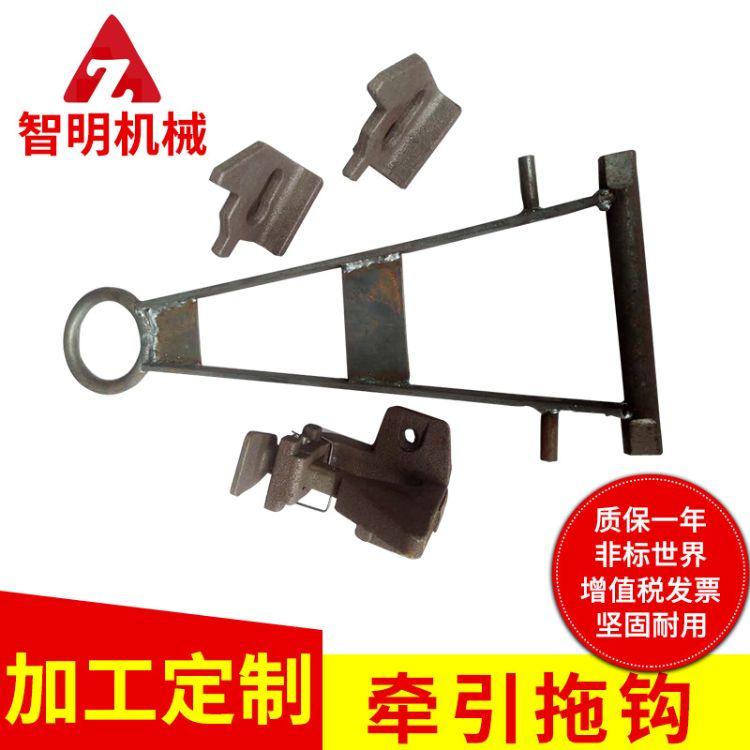 牵引拖钩工位器具堆垛脚碗定位块气弹簧 物流台车牵引拖钩可定制