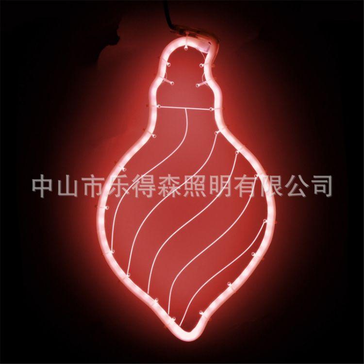 LED柔性霓虹灯蜡烛亚克力板发光造型灯挂件装饰彩灯厂家直销批发