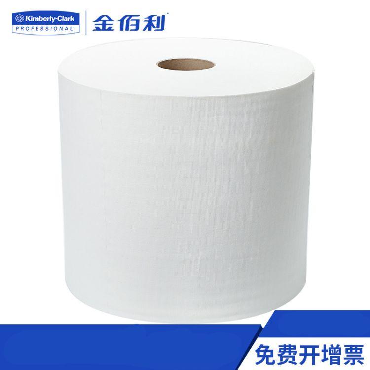 金佰利WYPALLX80大卷 进口工业抹布 代替百洁布 碎布94173A擦拭布