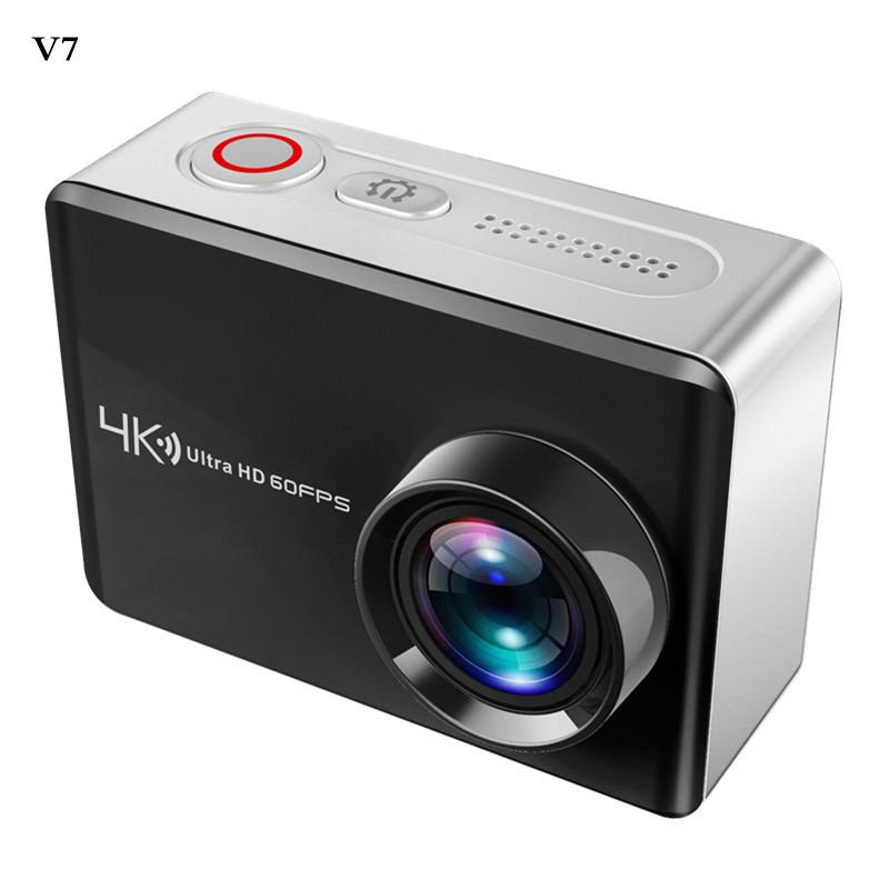 跨境直销V7高端全志V5+IMX317Sensor双MIC降噪真4K60帧运动相机DV