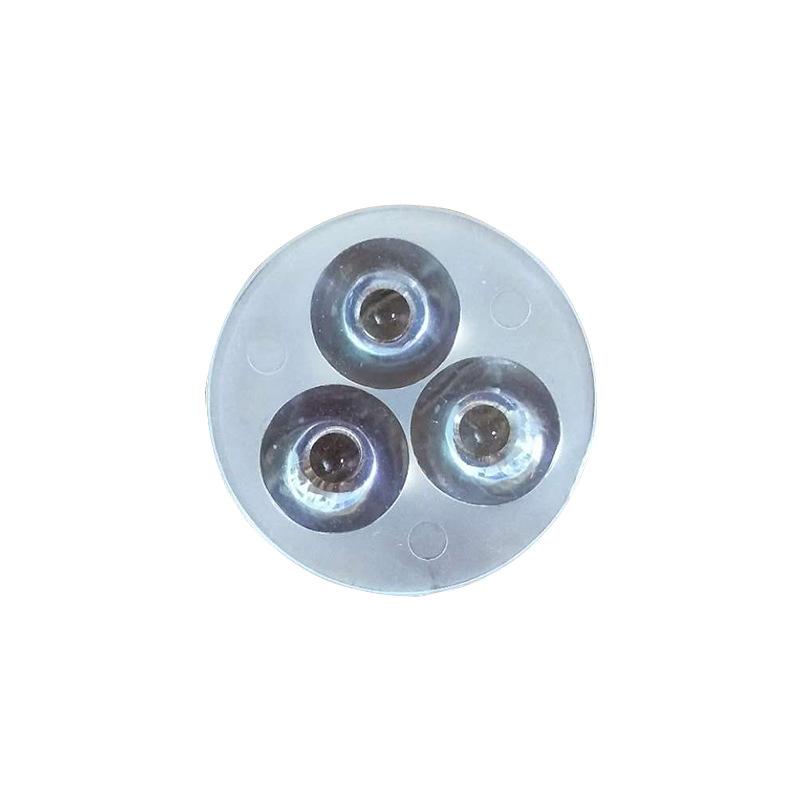 厂家直销组合透镜 射灯镜片 50-3W LED灯具用品 开模制作