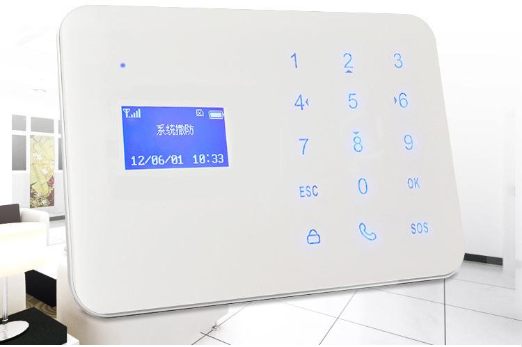 家用 商铺 写字楼 安防防盗报警器GSM防盗报警系统GSM报警主机