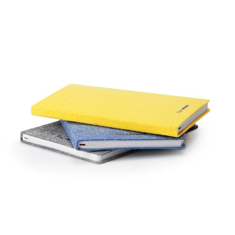 毛毡笔记本 毛毡文具  随身笔记本Felt notebook可按需求定制