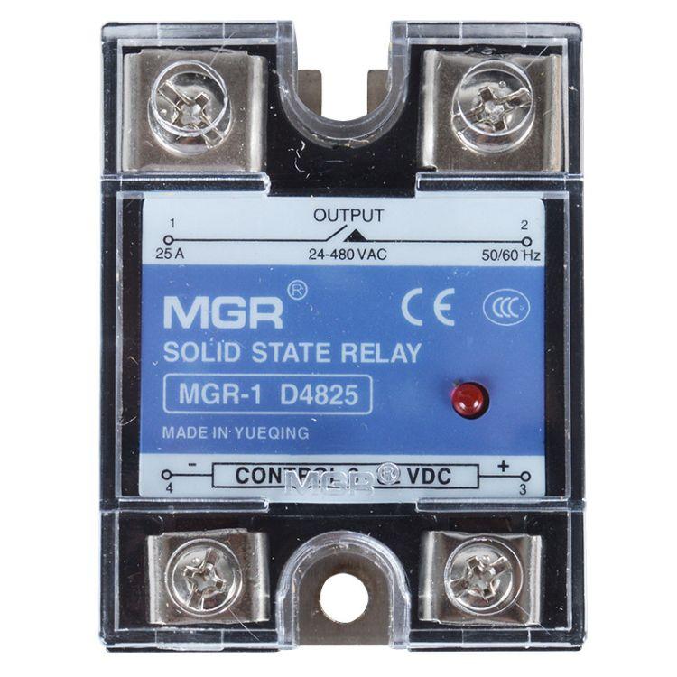 厂家直销质保一年 交流 单相固态继电器40a