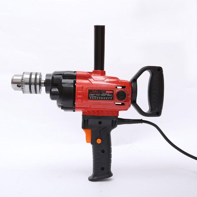 厂家直销电动工具 2000瓦16mm手电钻多功能大功率搅拌机现货批发