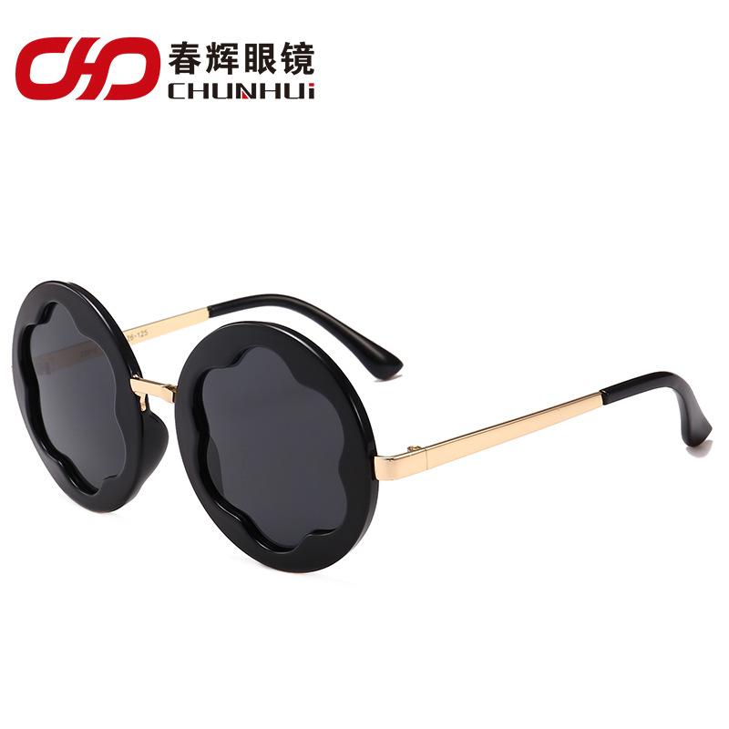儿童太阳镜新款时尚个性墨镜潮童遮阳偏光太阳眼镜厂家批发33915