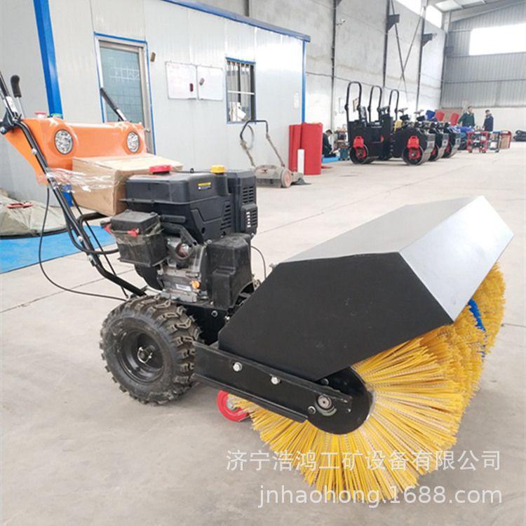 小型手推式扫雪机 多功能扫雪机厂家 道路专用抛雪机
