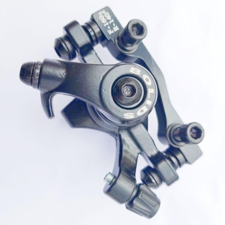 博力黑色碟刹器专业生产自行车配件碟刹线拉夹器骑行用品BB2型