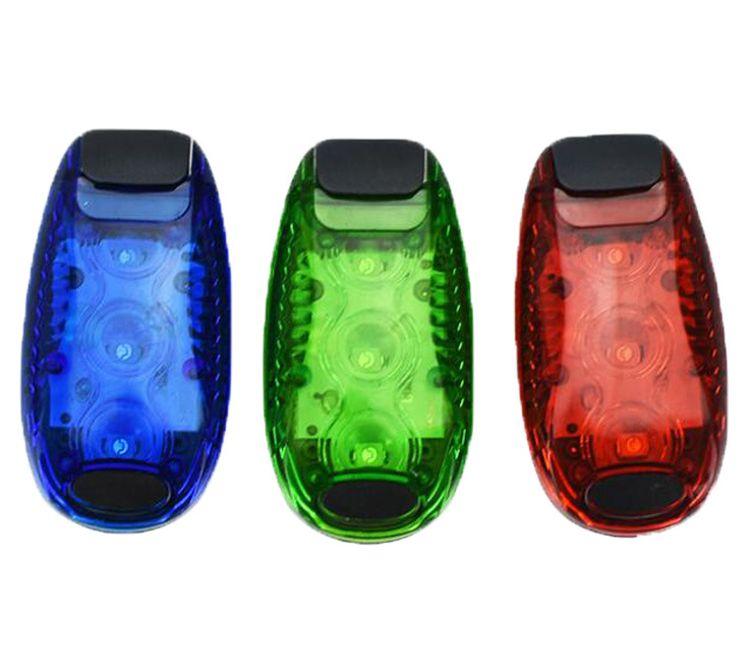 工厂直销夜跑LED警示灯/夜跑灯自行车灯/夜骑灯/户外夜跑灯