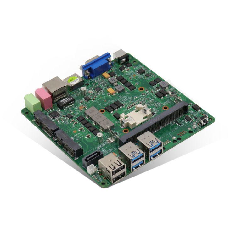 教育云终端 3855U/3955U无风扇工控主板 低功耗嵌入式工业主板
