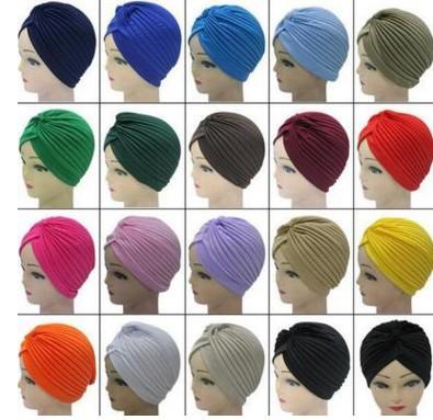 2016款速卖通热卖款头巾帽印度帽包头帽子穆斯林头巾帽支持一件代