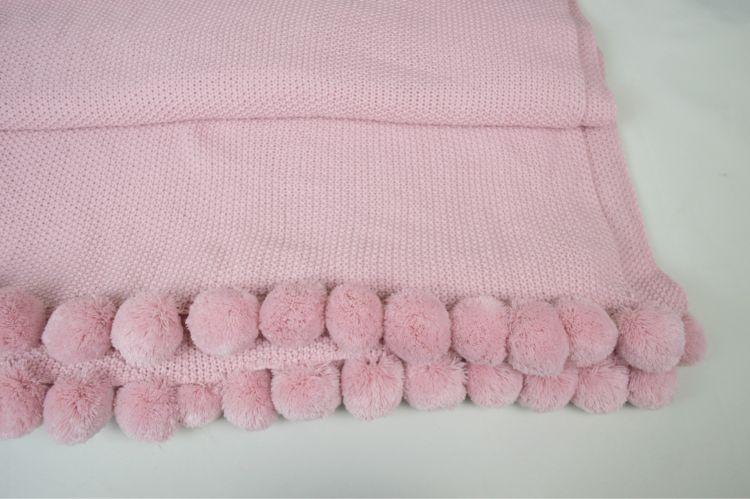 供应2017新款腈纶针织休闲毯外贸出口空调毯子厂家直销