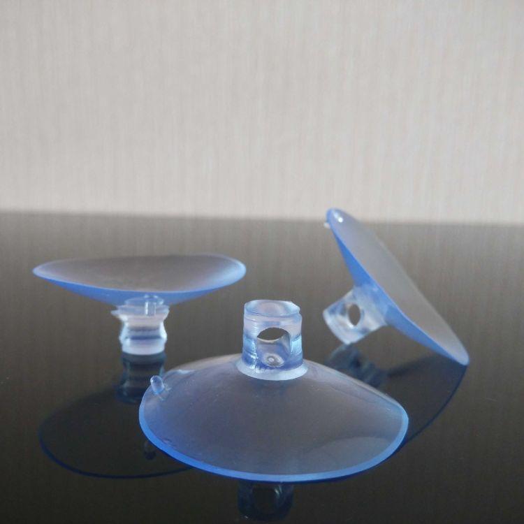 3.5cm穿孔吸盘 婚车装饰用品 真空吸盘 无痕透明pvc 环保强力