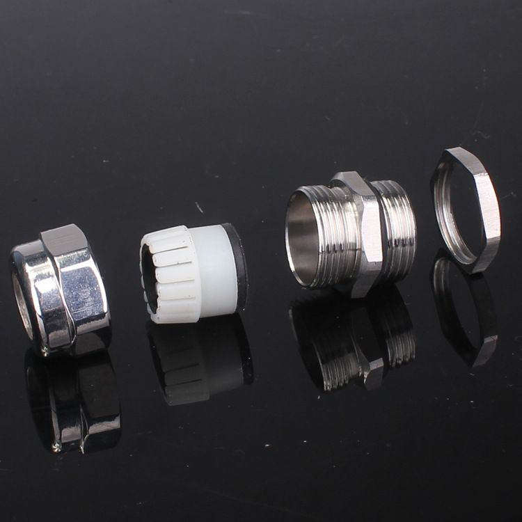 (批发销售)金属电缆防水接头 不锈钢密封头 葛兰头填料函连接器