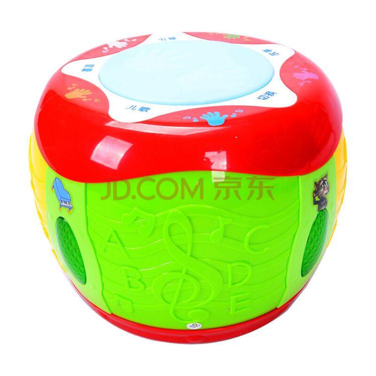 南国婴宝 婴幼儿玩具838-40音乐多功能动感鼓 启蒙专家 快乐伙伴