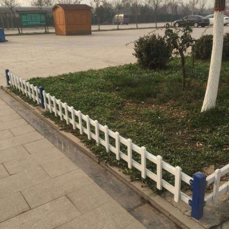 直销 pvc草坪围栏 塑钢园艺草坪护栏 别墅社区防护栏 环亚