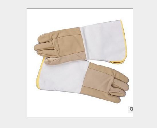 长款头层皮皮电焊手套 焊工作业手套 耐磨 手掌加厚 批发零售