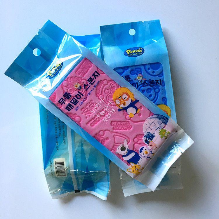 新品宝露露搓澡海绵婴幼儿童搓灰宝神器浴棉搓泥搓澡神器生产厂家