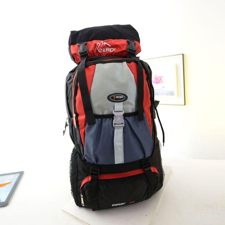 厂家直销新款户外双肩包旅游登山包男女户外背包特大行李包大包包