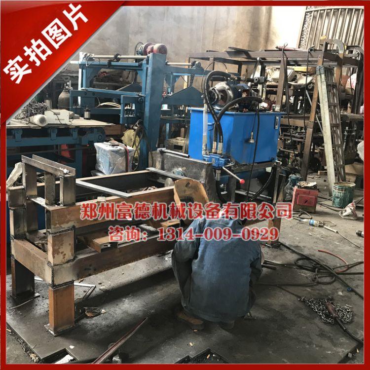 电动液压树桩劈木机 卧式小型树疙瘩劈木机 原木劈柴机