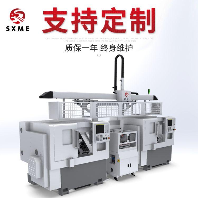 厂家供应 桁架机械手数控车床上下料机械手 CNC机床桁架式机器