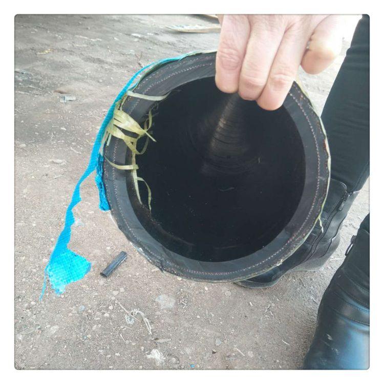 天然橡胶管夹布橡胶管帘线增强高耐磨喷砂机大口径夹布胶管