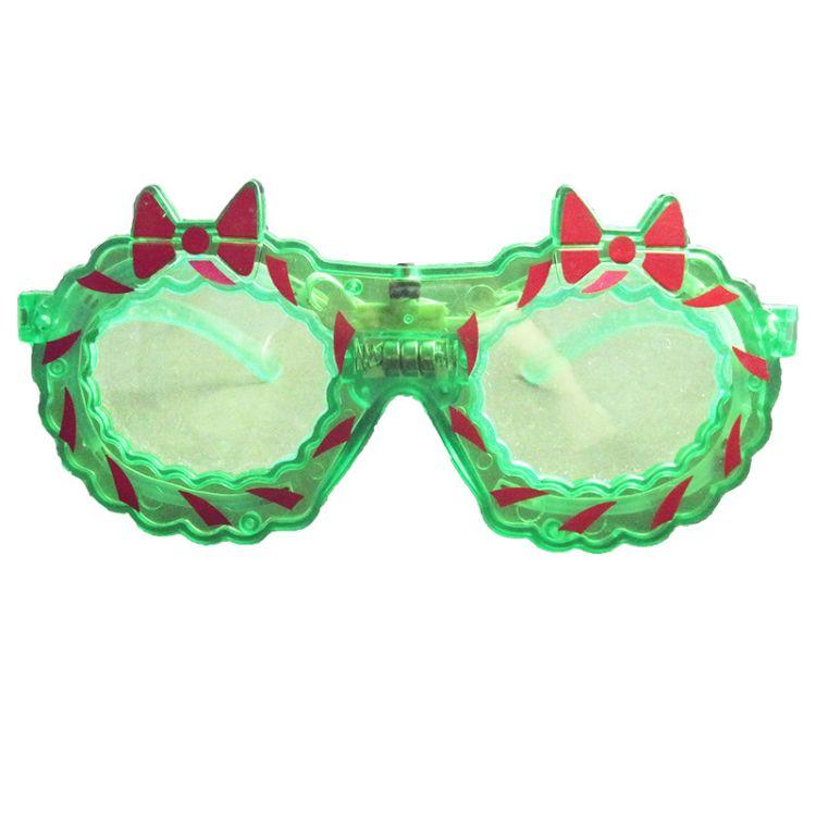 整蛊led发光眼镜 圣诞节日led电子发光礼品  舞会派对LED眼镜