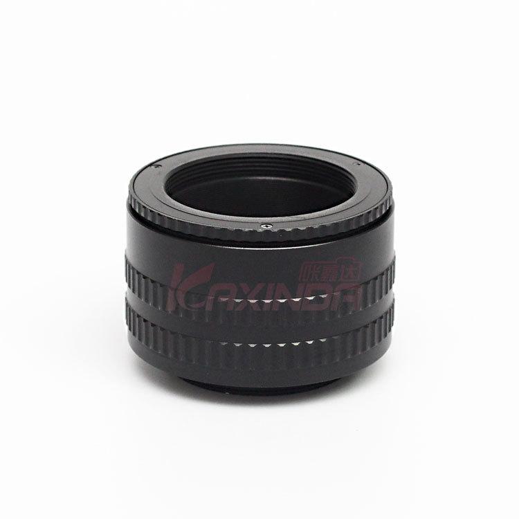 Kaxinda/咔鑫达:铝制M42-M42 (36-90)放大头改口 调焦筒