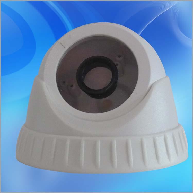 [厂家直销]监控摄像机外壳 安防外壳 花边排气小海螺监控外壳
