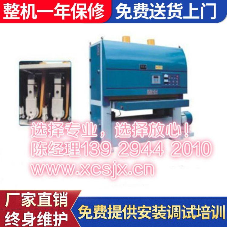 供应输送式铁板自动磨光机 铁板数控自动磨光机