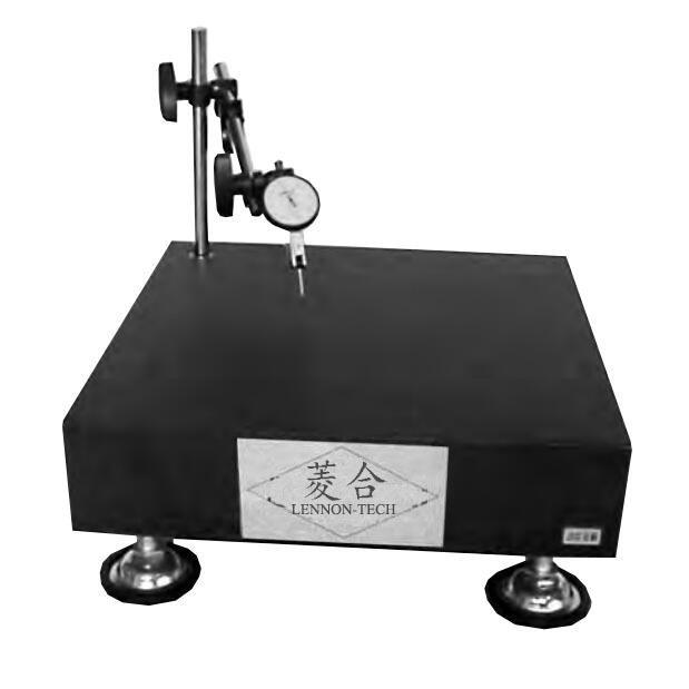 订制花岗岩大理石平板测量台 可装配万向支架 带四角微调底座