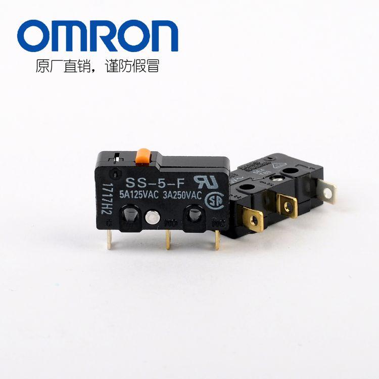 OMRON欧姆龙原装进口SS-5-F微动开关印尼全新正品现货特价热卖中