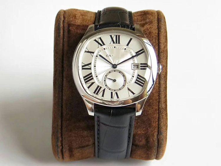 手表廠家直銷-熱賣爆款倫敦系列機械皮帶男表 可一件代發