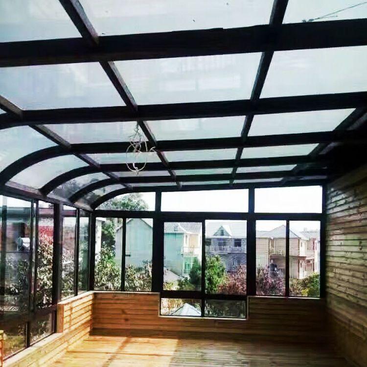 120欧式阳光房系列 别墅阳光房 广东铝合金玻璃房
