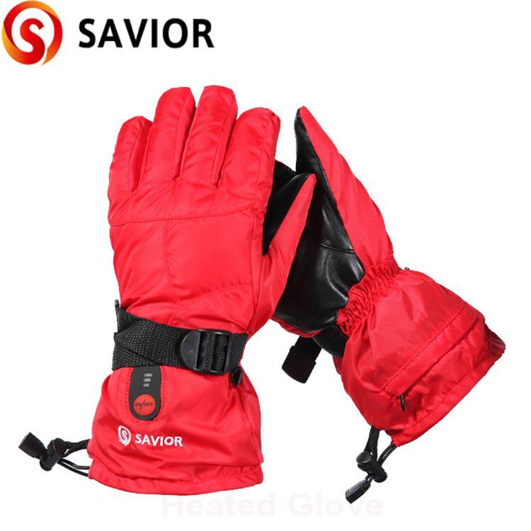 冬季滑雪手套防风防水加绒手套男女定制加厚保暖摩托车骑行手套