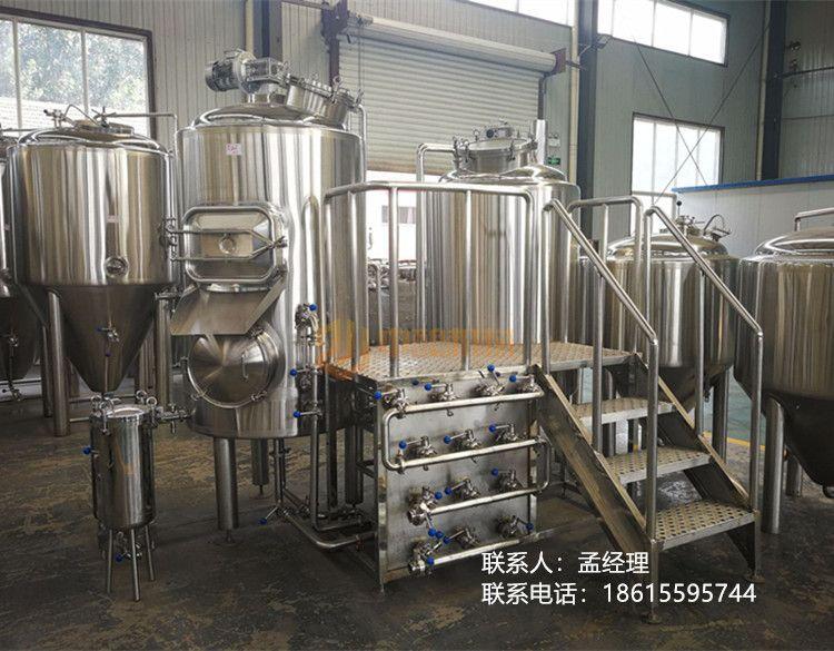 中酿机械304不锈钢精制自酿啤酒设备-酒店KTV酒吧啤酒坊设备 100L-1000L等型号