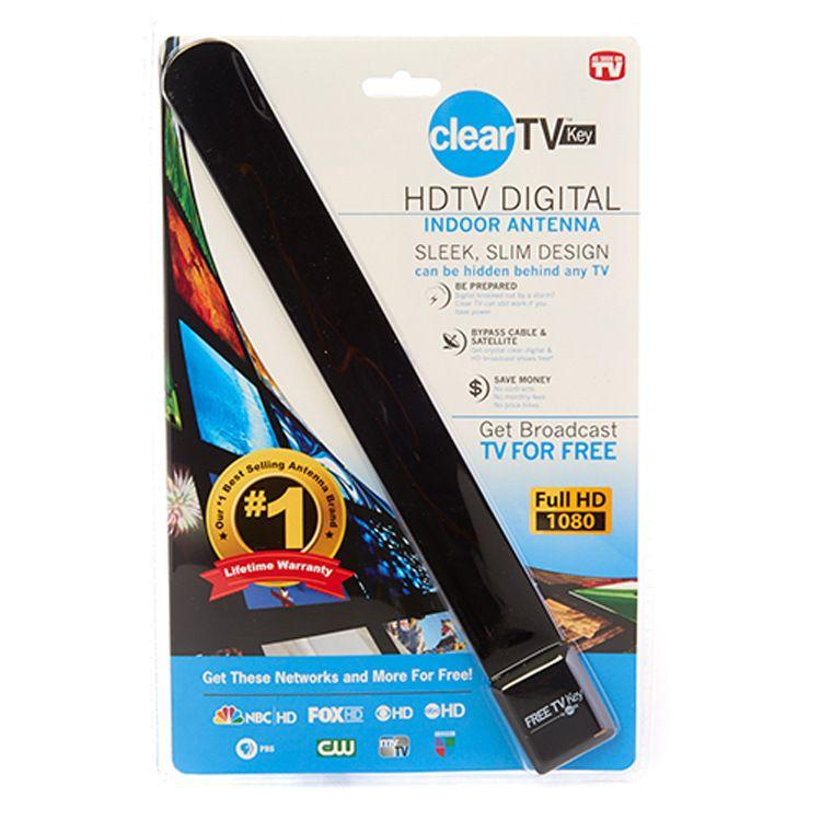 电视天线 新款clear TV key 室内高清数字卫星电视天线接收器