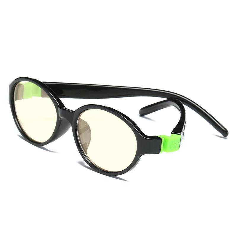 批发TR90镜框儿童防蓝光电脑镜上网学习眼镜  防疲劳平光护目镜