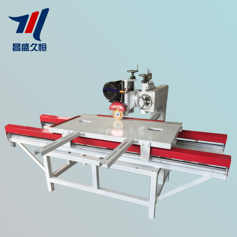 昌盛久恒 现货供应电动瓷砖切割机 大型大理石瓷砖切割机切石机