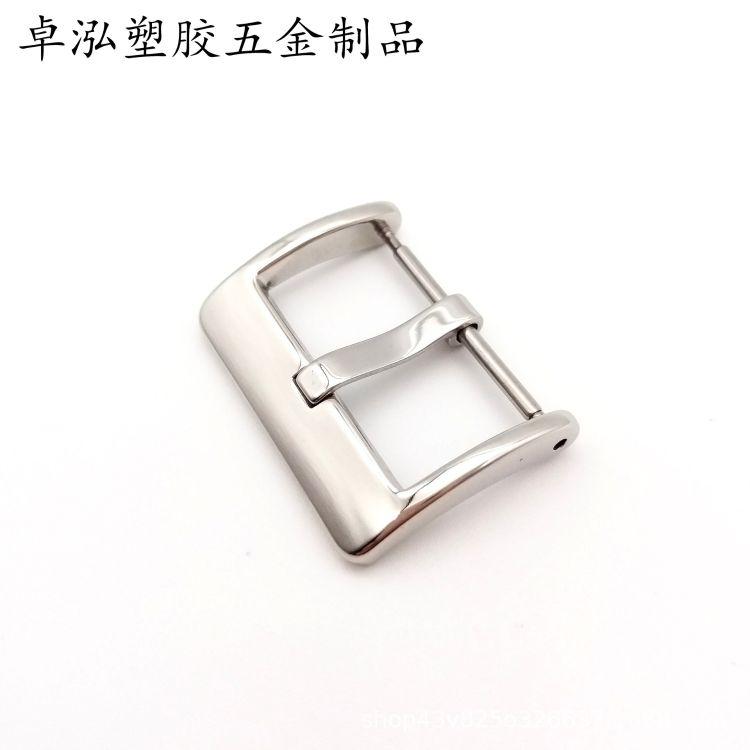 厂家直销不锈钢表扣 硅胶表扣 皮带扣 针扣 智能手表扣 手表配件