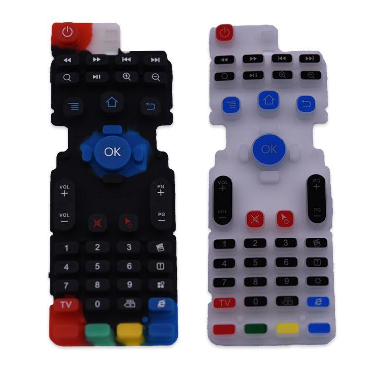 工厂直销创意款环保硅胶按键 移动智能家电遥控配件 颜色形状定制